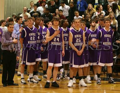 NFA vs Monroe Woodbury Basketball