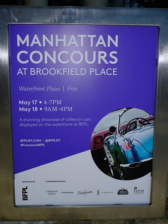 Inaugural Manhattan Concours