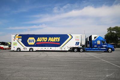 10-04-18 Dover-NASCAR Haulers