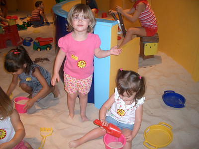 Courtney and Emma at the Museum August 2005