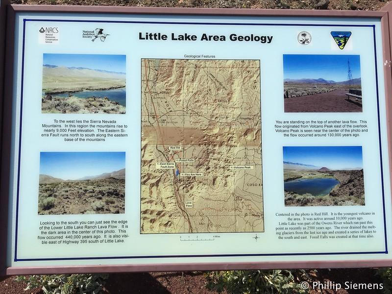 Little Lake area geology