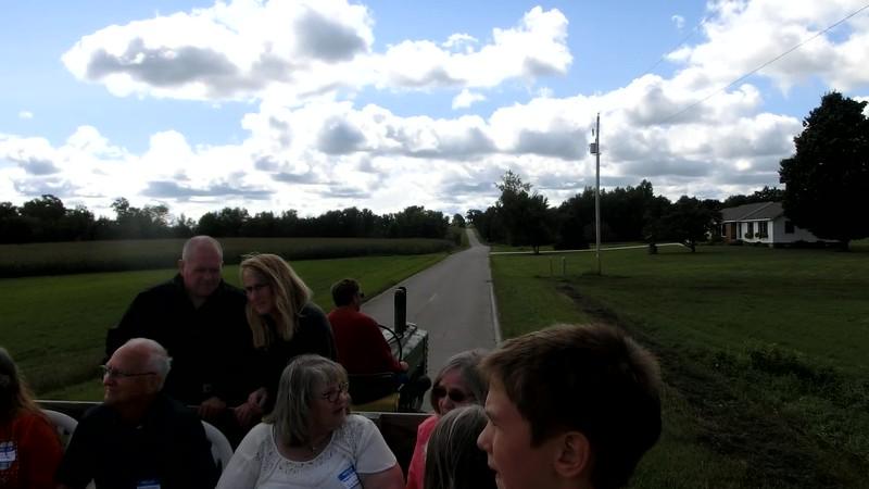 Stephenson med traktorkärra