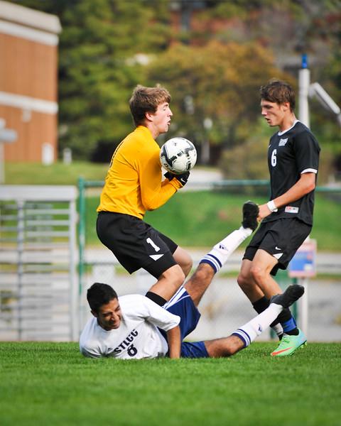 STLCC vs SWIC Men's Soccer 10/19/14 OT Win 1-0