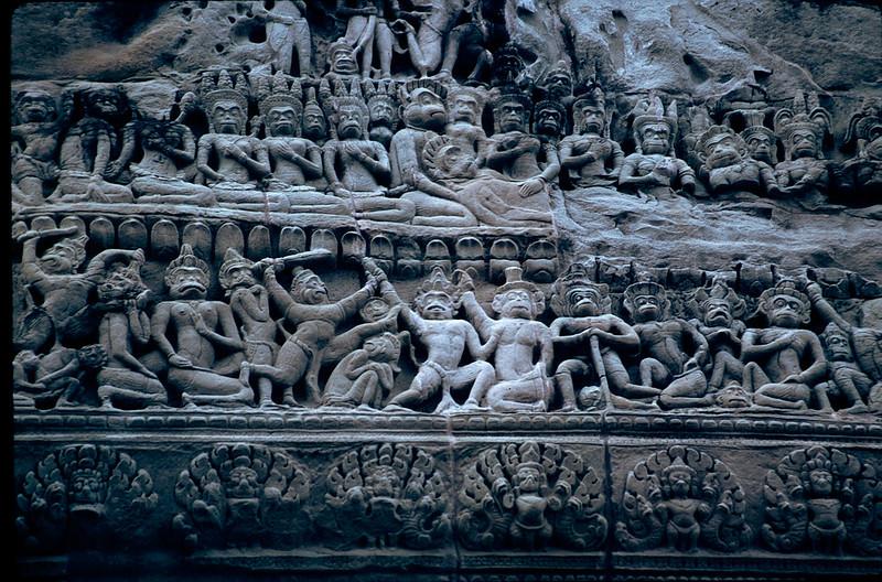 Angkor Wat friezes