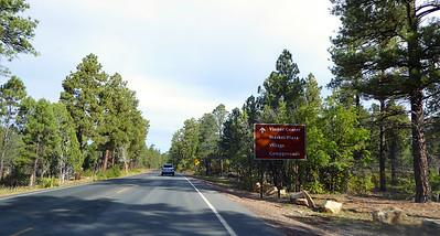 Williams to Grand Canyon Arizona