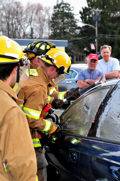 Mine Hill Fire Dept Extrication Drill 4/11/11