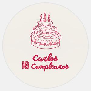 18 Cumpleaños Carlos
