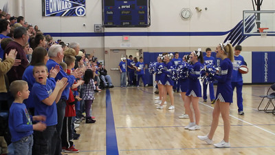 Boys Basketball, Pep Rally 3/1/2013