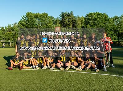 6/16/2021 - Boys Varsity Lacrosse - MPA Class A Regional Final - Cape Elizabeth vs Berwick
