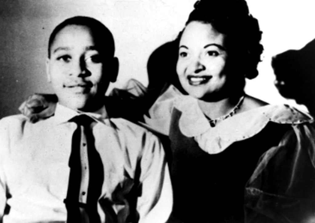 . Mamie Till Mobley, right, and her son Emmett Till, whose lynching in 1955 received national attention.  Mobley, 81, died Jan. 6, 2003, of heart failure at Chicago\'s Jackson Park Hospital.   (AP Photo/Mamie Till MobleyFamily, HO)