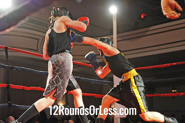 Bout #8 Justin Aviles, West Side BC, Strongsville H S -vs- Zi Stalnaker, Terminator BC, Uniontown H S