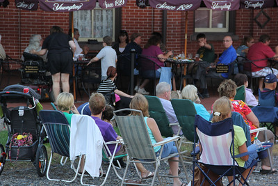 Jay Smarr Performs, Summer Concert Series, Train Station, Tamaqua (8-29-2013)