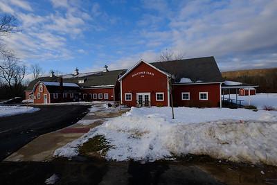 Holcomb Farm in Winter