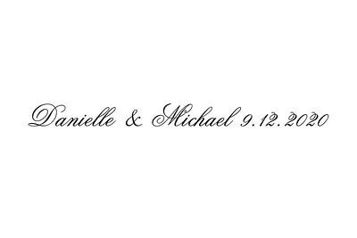 2020-09-12 Danielle & Michael