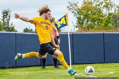 9-8-19 - Best of Michigan Men's Soccer Vs Washington