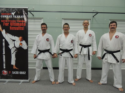 Combat Karate Noosa First Black Belt Grading December 2013