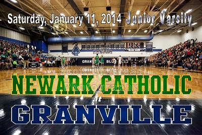 2014 Newark Catholic at Granville - Junior Varsity (01-11-14)