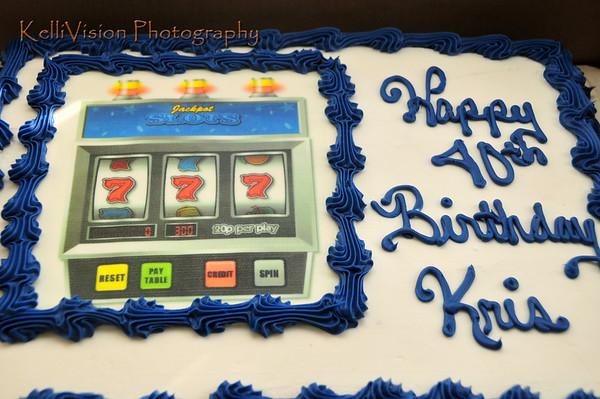 Kristopher Mockabee's 40th Birthday Casino-Style