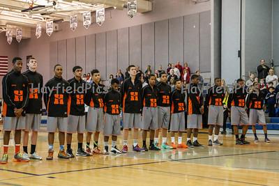 Boys Basketball Washington & Lee 2/15/14