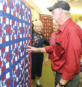Local veterans receive Quilts of Valor