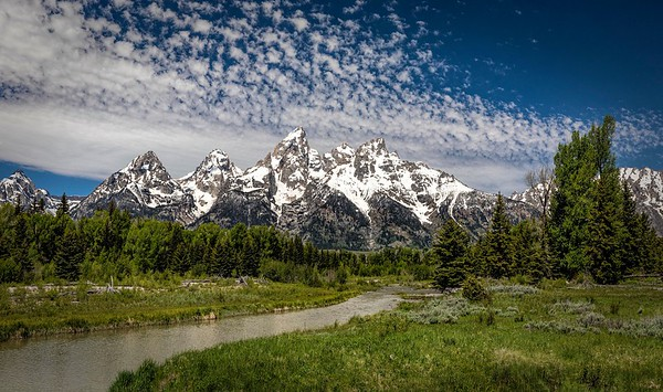 Grand Tetons and Yellowstone NP (2018)