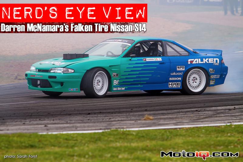 Nerd's Eye View, a Look Inside Darren McNamara's Falken Tire Nissan S14