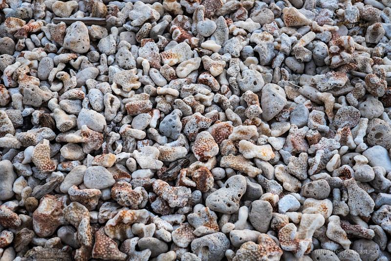 Maui beach stones