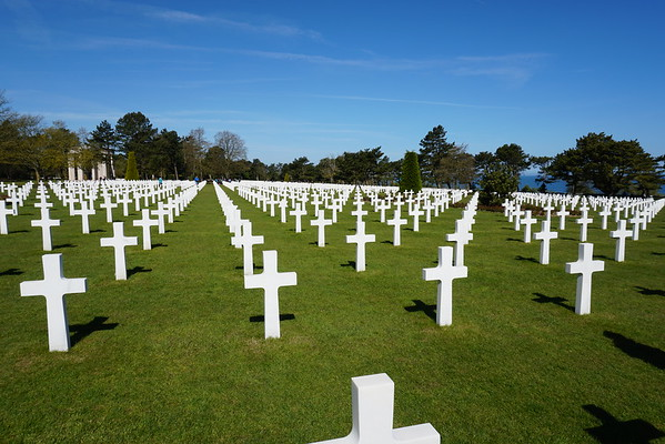 The American Cemetery - Normandy, FR