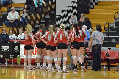 VG Volleyball vs Whitesboro 2-13-16