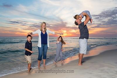 The DaSilva Family Panama City Beach Florida