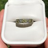2.30ctw Fancy Yellow and White French Cut Diamond 5-Stone Band 11