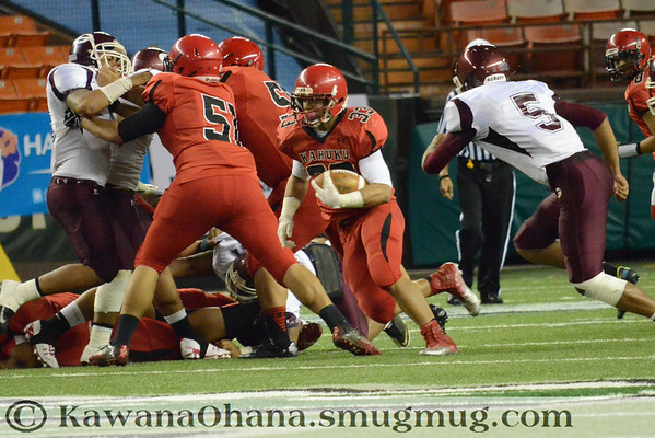 VFB Kahuku vs Farrington 1st Half 2012