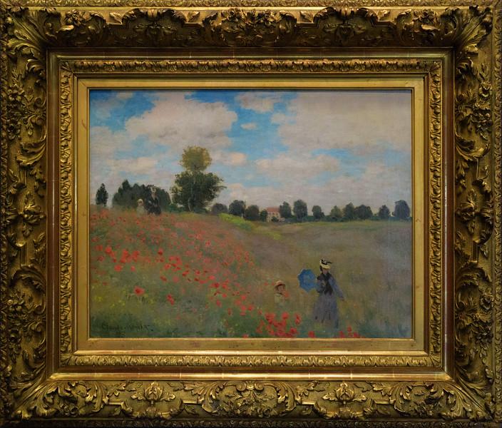 Claude Monet, Poppy Fields near Argenteuil 1875