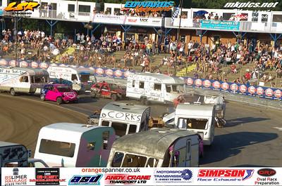 Caravan Racing from Ipswich
