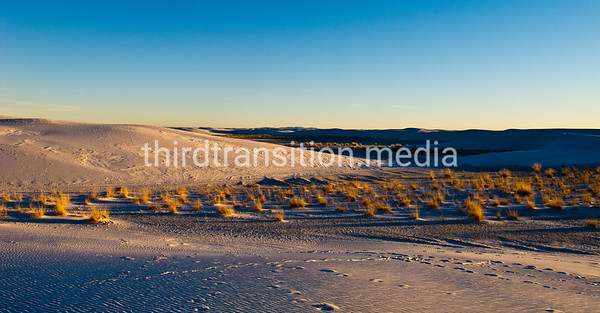 White Sands: Sand and Sky