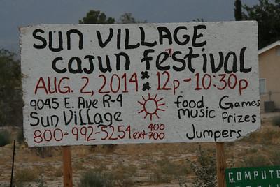 Sun Village Town Council Cajun Festival 2014
