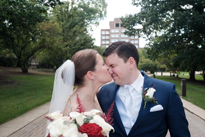 Katie & Eric's Wedding at Q Center - St. Charles