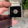 1.97ctw Antique Cluster Ring, GIA G SI2 8