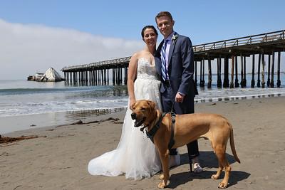 Stephen & Rebekah Wedding, Aptos, CA, July 25, 2020