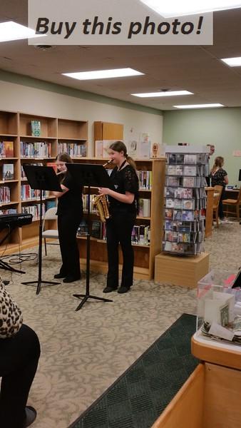 BBE Band Recital at library 02-28