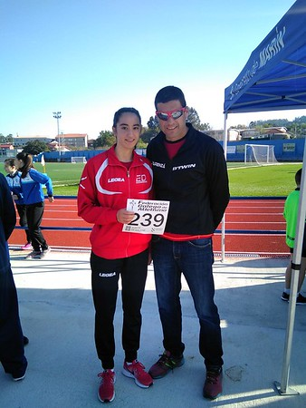 Ana Vallines bronce Galego 5000 xuvenil