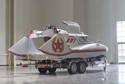 Soviet-era Tupolev A-3 Aerosledge N007