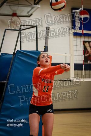 North Davie Varsity Volleyball vs Ellis 9-8-14