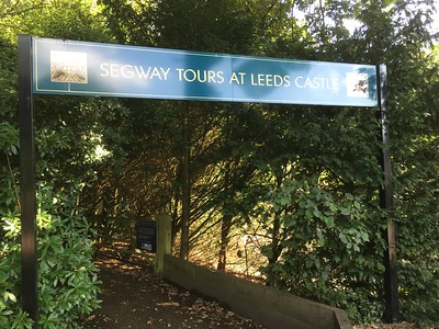 Leeds Castle Segway Ride