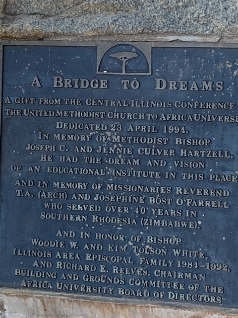 A Bridge To Dreams - Africa University