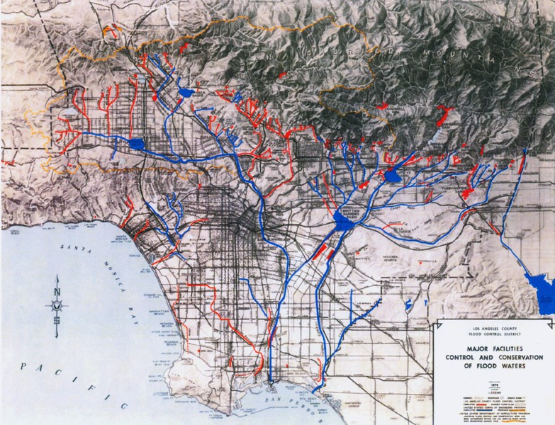 1979, Flood Water Control Map