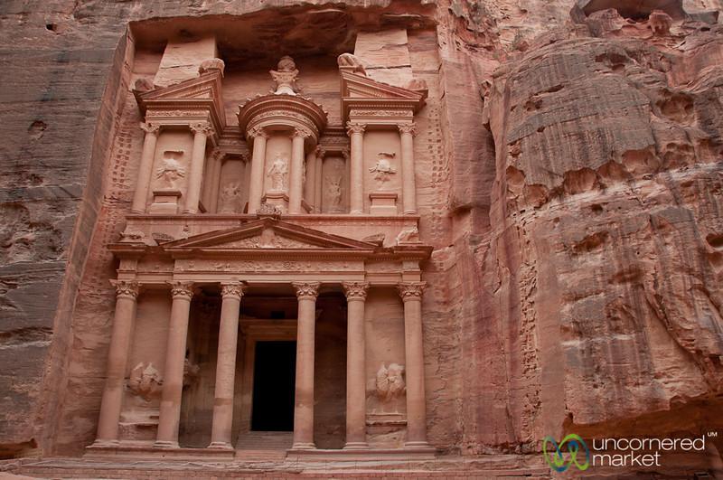 Petra's Treasury at Dusk - Jordan