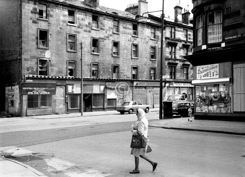 Govan Rd from Southcroft St.     July 1975