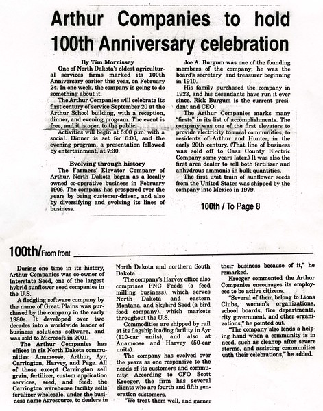 ARE036.  Arthur Companies to Hold 100th Anniversary Celebrat.jpg
