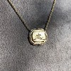 'In Hope' 18kt Yellow Gold Cast Pendant, by Seal & Scribe 6